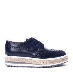 PRADA 普拉达 皮革 男士 厚底鞋 2EG015图片