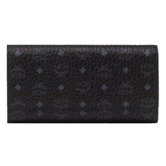 MCM/MCM 女士涂层帆布长款三折钱包手拿包 MYL8SVI48图片