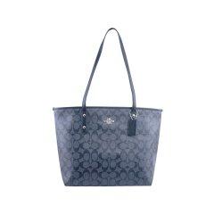 COACH/蔻驰 ROGUE系列 女士 PVC  大号C纹印花购物袋托特包手提单肩包 F58292图片