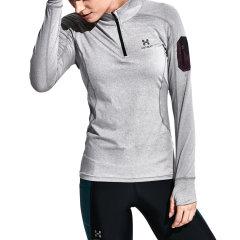 后秀/HOTSUIT 运动T恤女长袖速干透气夜光跑步训练瑜伽服修身显瘦健身衣 66092000图片