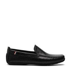 S.T. DUPONT/都彭 牛皮冲孔套脚透气经典商务男士乐福鞋 G19140510图片
