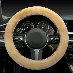 pinganzhe 汽车新款冬季羊毛方向盘套 汽车羊毛把套 汽车冬季方向盘套图片