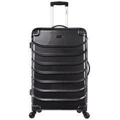 ROCKLAND/洛克兰 ZIGZAG ART系列 黑编织纹银编织纹 中性款式编织纹行李箱拉杆箱 万向轮 海关锁 聚碳酸酯 20寸图片