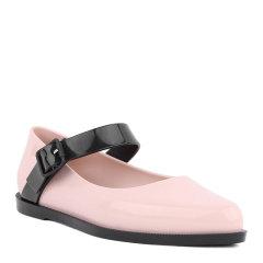 【包税】MELISSA/MELISSA梅丽莎女鞋 春夏新款休闲纯色尖头搭扣平底女士单鞋  平跟鞋  32333图片