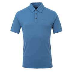 MARMOT/土拨鼠男款轻便吸湿排汗速干防晒户外运动短袖T恤POLO衫F54070图片