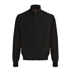 【包邮包税】Burberry/博柏利 20春夏 男装 服装 男士黑色纯棉修身轻薄短款外套 男士夹克外套图片