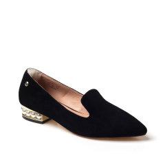 Ozwear ugg/Ozwear ugg  平跟鞋  春夏新款 羊绒鞋面 尖头珍珠方根 女士单鞋图片