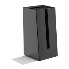 SHUTER/树德 塑料纸巾盒收纳盒简约餐桌纸抽盒客厅桌面书挡茶几图片