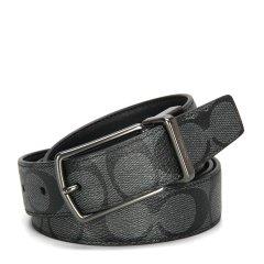 【包税】COACH/蔻驰 男士PVC双面两用针扣腰带 可裁剪 64825 多色可选图片