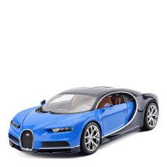 布加迪1:18车模chiron仿真合金跑车收藏摆件工艺礼品图片