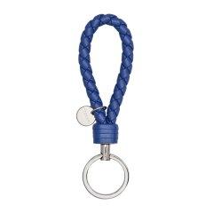 【包税】Bottega Veneta 宝缇嘉 女士时尚羊皮编织钥匙扣图片