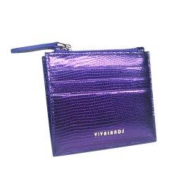 VIVALANDS/VIVALANDS 【墨西哥系列】 中性款式蜥蜴纹羊皮超薄实用卡包零钱包 小众设计师品牌图片