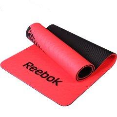 锐步(Reebok)进口8mmTPE瑜伽垫 环保防滑加厚健身运动垫子RAMT-11024GRS/RDS图片