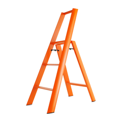 Hasegawa/长谷川 利快日本进口双扶手三步梯子铝合金家用单侧梯多功能折叠梯子人字梯 (红点奖)图片
