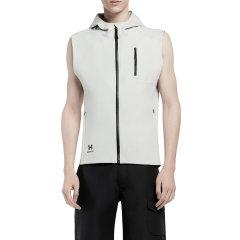 HOTSUIT/后秀  19年春季男士运动休闲开衫背心外套带帽图片