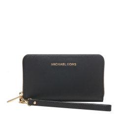 Michael Kors/迈克·科尔斯 MK女士Saffiano皮革拉链钱夹钱包32H4GTVE9L图片