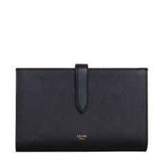 【包税】CELINE/赛琳 新款女士黑色荔枝纹牛皮钱包(4色可选)图片