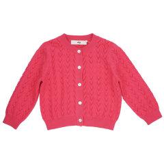 【18春夏】nucollection女童棉质薄款针织开衫 两色可选图片