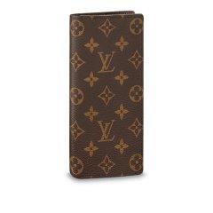 【包邮包税】Louis Vuitton/路易威登  经典款男士老花棋盘格牛皮对折钱包  (2色可选)图片