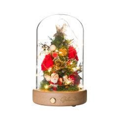 GELEISTORY圣诞节永生花圣诞礼物限量版送女友图片