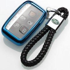 【奢品节可用券】pinganzhe 路虎专用软胶全包钥匙包  钥匙壳 钥匙套 送钥匙扣两个激情红 路虎图片