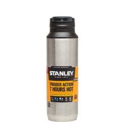 <19年春夏> Stanley/斯坦利  户外运动水壶304不锈钢真空保温杯旅行健身随手杯一键开启保温杯居家水杯 473ml图片