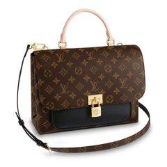 Louis Vuitton/路易威登 新款邮差包,女士老花  帆布/配皮单肩包图片