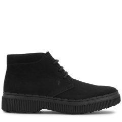 Tod's/托德斯男士休闲运动鞋小牛皮踝靴图片