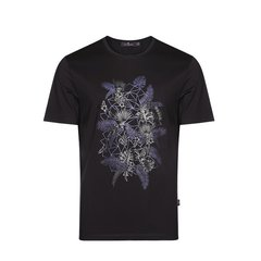 【DESIGNER MENSWEAR】JEFF BANKS/杰夫班克斯春夏新品男士短袖T恤圆领男图片