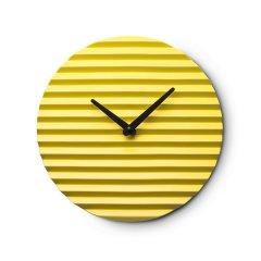 意大利SABRINA FOSSI DESIGN 客厅陶瓷波纹挂钟 北欧简约图片