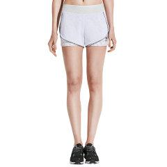 美国HOTSUIT运动短裤女2018夏季新款三分裤假两件舒适健身短裤图片