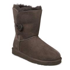 【包税】UGG/UGG  冬季女靴 美国时尚保暖羊皮毛一体纽扣女士雪地靴 5803 W图片