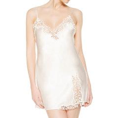 LA PERLA/萝贝拉 女士睡衣Petit Macram系列新真丝绸缎蕾丝吊带性感睡裙女睡衣/家居服图片
