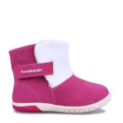 Eurobimbi欧洲宝贝全牛绒中邦靴适合约0-2.5岁EB24F005图片