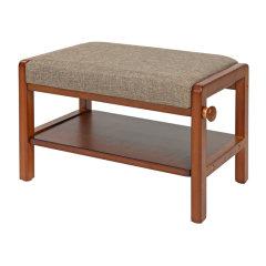 INNESS/英尼斯原装进口实木换鞋凳创意换鞋凳简约现代换鞋凳可更换座套D-4001图片