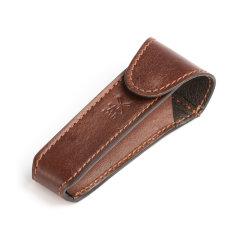MUHLE/穆乐 TRAVEL剃须刀便携包旅行包牛皮包适用于传统刀头皮包图片