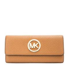 Michael Kors/迈克·科尔斯牛皮材质MK字母装饰女士长款钱包图片