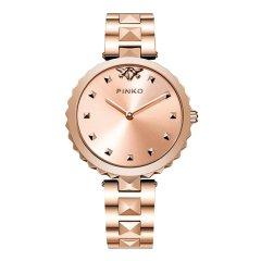Pinko/品高意大利进口 个性柳钉简约时尚石英女表Licis系列钢带图片