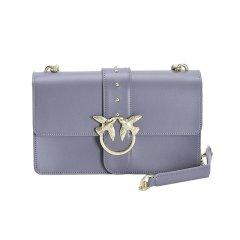 PINKO品高 燕子包新款纯色简约女士单肩斜跨包  大号图片