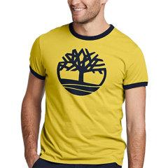 【包税】Timberland/添柏岚  户外男士胸前LOGO圆领短袖T恤 TB08208J图片