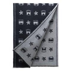 【戚薇同款】OZLANA时尚猫头美利奴羊毛围巾披肩 OZ5021图片