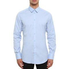 Dolce&Gabbana/杜嘉班纳  男士纯棉纯色商务休闲舒适长袖衬衫图片