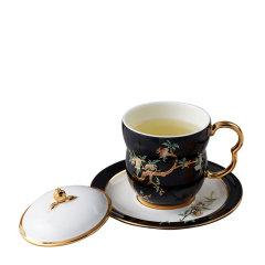 国瓷永丰源 夫人瓷石榴家园 陶瓷杯子 马克杯咖啡杯 办公室泡茶杯图片