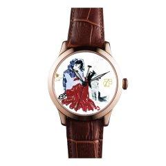 zhangdao/张稻 双面陶瓷腕表 自动机械手表之李菊生图片