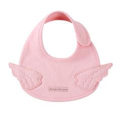 Anne Geddes安妮.格迪斯 天使系列 婴幼儿天使纯棉口水兜 151016-4 男宝女宝蓝色图片