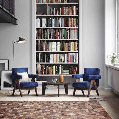 DOWNESSA偶遇北卡系列 设计师原创毛皮拼接地毯图片