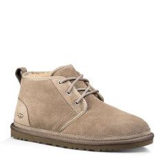 【新款】【包税】UGG/UGG  UGG保暖男靴短靴羊皮毛一体防水系带男士雪地靴 3236图片