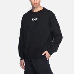 kktp 套头卫衣 经典logo简约男装 设计师潮牌 圆领纯色纯棉休闲卫衣 套头男女同款上衣图片