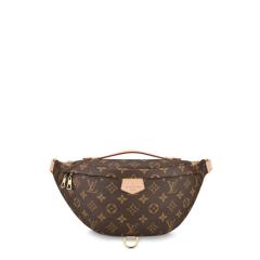 Louis Vuitton/路易威登  秀款 BUMBAG 帆布/配皮 腰包 M43644 中性款式、明星同款图片