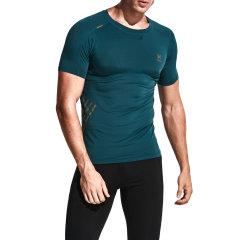 后秀/HOTSUIT 17年男款紧身衣健身短袖男T恤跑步短袖衫56094001图片